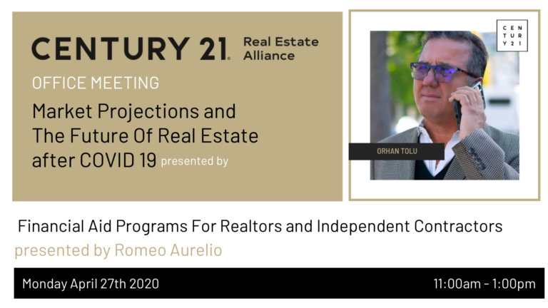 Market Projections and  The Future Of Real Estate  after COVID 19